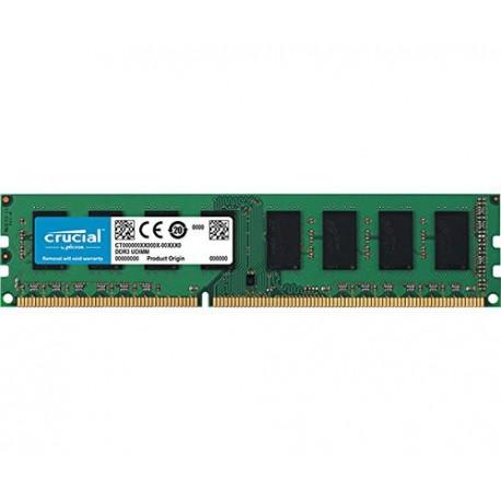 Mémoire Dimm DDR3L LOW VOLTAGE 1.35V 1600 Mhz 4 Go Crucial