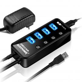 Hub USB 3.0 4 ports 15W