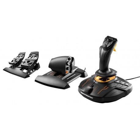 Joystick, Manette des Gaz et Palonnier pour PC Thrustmaster T.16000M FCS Flight Pack