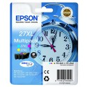 Epson 27 XL multipack Cyan, Magenta, Jaune T2715 Réveil