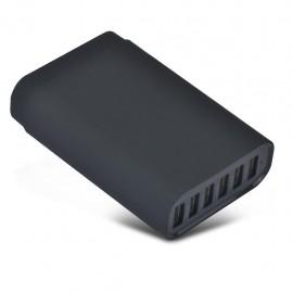 Chargeur secteur multi-USB 6 ports 40W 8A