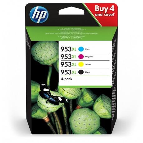 HP Pack 953 XL (4 cartouches XL)