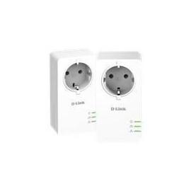 D-Link DHP-P601AV - Pack de 2 adaptateurs CPL Gigabit 1000 Mbps