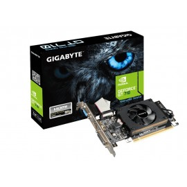 Carte graphique Gigabyte GV-N710D3-1G Nvidia GeForce GT710 1800 MHz 1 Go PCI Express 2.0