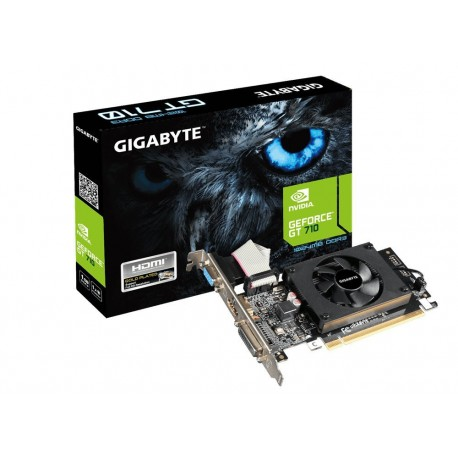 Carte graphique Gigabyte N610-1GI Nvidia GeForce GT610 810 MHz 1024 Mo PCI-Express