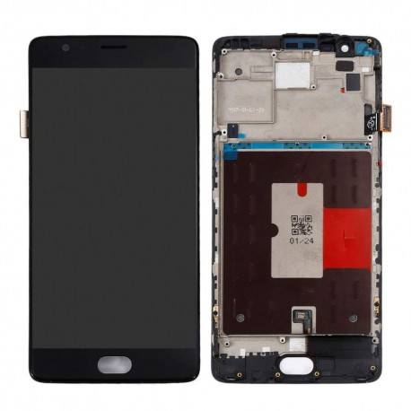 Ecran LCD + Vitre Tactile + Chassis OnePlus 3 A3000 A3003