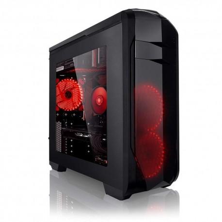 Ordinateur de bureau Gamer 6-Core AMD FX-6300 6X 3,50 GHz - GeForce GTX1050Ti - 8 Go DDR3 1600 MHz - 1 To - Windows 10