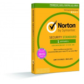 Norton Security Standard 1 poste 1 an