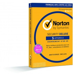 Norton Security Deluxe 5 postes 1 an