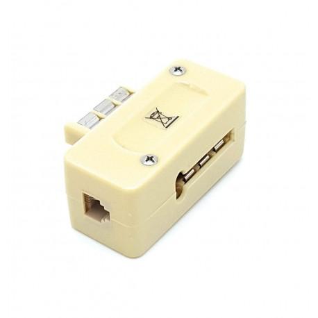 Adaptateur téléphonique gigogne RJ11
