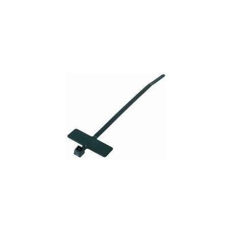 Serre-câble avec porte-étiquette 2,6mm (lot de 100 pièces)