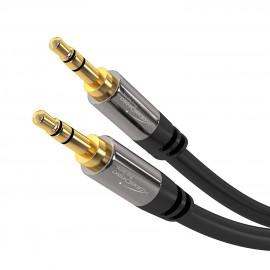 Cable jack 3.5mm M/M 2m