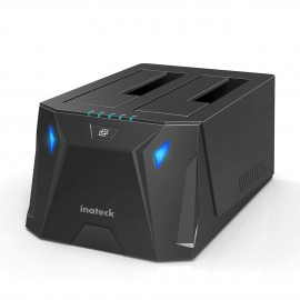 "Docking station SATA 3,5""/2,5"" USB 3.0 Inatek (UASP)"