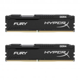 Mémoire DDR4 2666 Mhz 16 Go (2x8Go) Kingston HyperX CL16 DIMM XMP