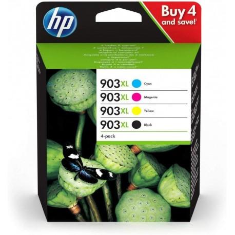 HP Pack 903 XL (4 cartouches XL)