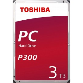 "Disque dur interne 3.5"" Toshiba P300 3To 3000Go SATA3 7200rpm"