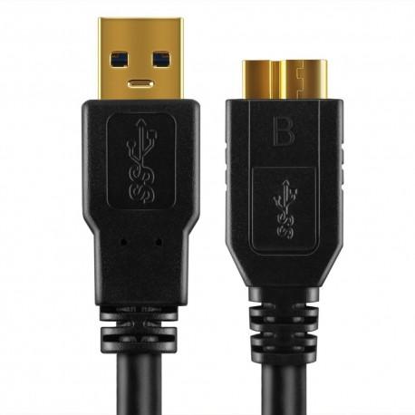 Câble USB 3.0 A/ micro B 5m