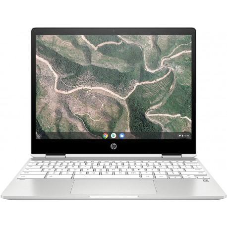 Chromebook HP x360 12b-ca0005nf PC Portable 12'' FHD IPS Blanc