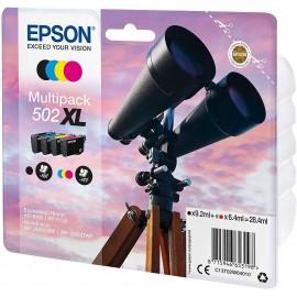 Epson 502 XL multipack Cyan, Magenta, Jaune T502 XL Jumelles