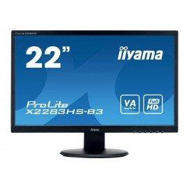 "Moniteur iiyama 21.5"" LED ProLite X2283HS-B3 1920 x 1080 4 ms VGA/HDMI/DP + HP"