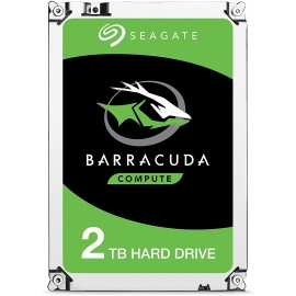 "Disque dur interne 3.5"" Seagate Barracuda 2To 2000Go SATA3 7200rpm 256Mo cache"