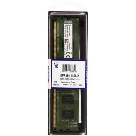Mémoire DDR3 1600 Mhz 2 Go Kingston
