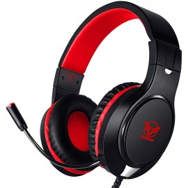 Casque gaming avec micro compatible PC Xbox One PS4 PS5 Nintendo Switch