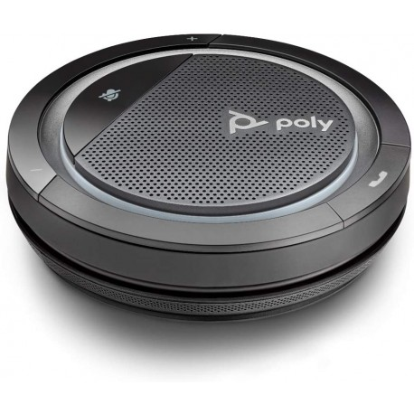 Haut-parleur portable sans fil Poly Calisto 5300 avec connexion USB-A et Bluetooth