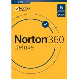 Norton 360 Deluxe 5 postes 1 an