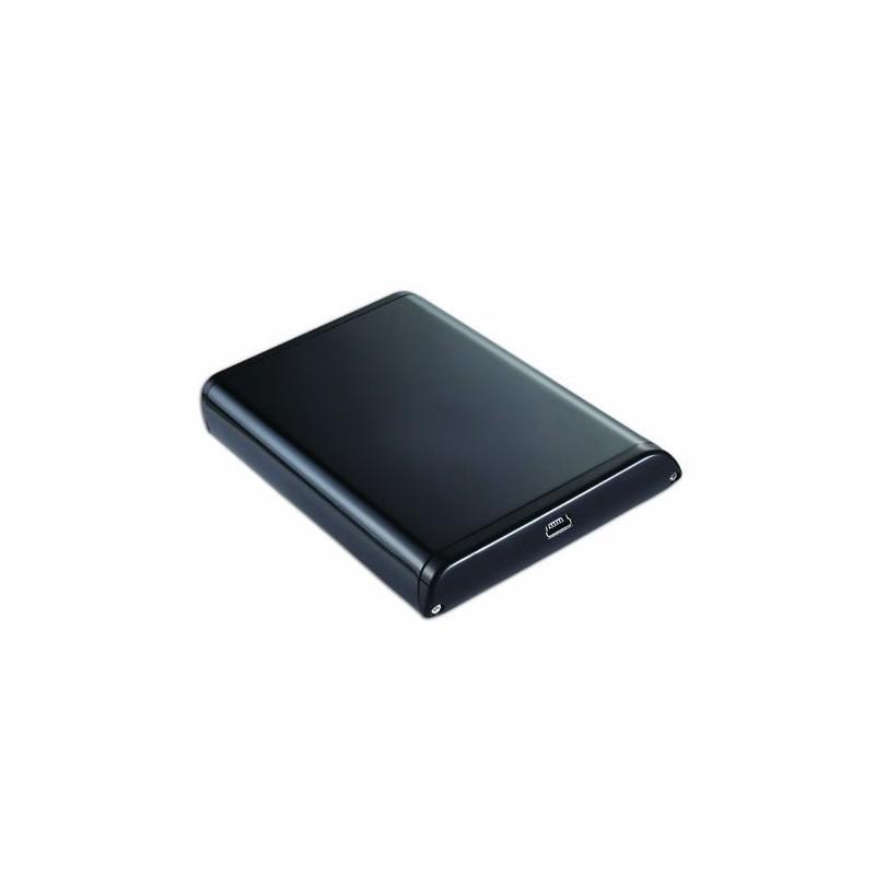boitier 2 5 usb 2 pour disque dur pata ide ou sata. Black Bedroom Furniture Sets. Home Design Ideas