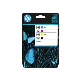 HP 963 Multipack 963 Noir + 963 Couleur
