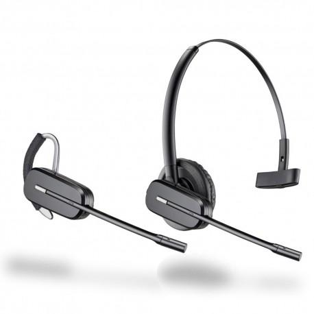 Micro casque compatible Gigaset A AS convertible oreillette Plantronics Poly C565 GAP