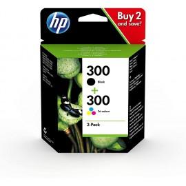 HP 300 2-Pack 300 Noir + 300 Couleur