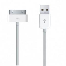 Câble chargeur USB 2 mètres pour iPhone 3G/3GS/4/iPod/iPad