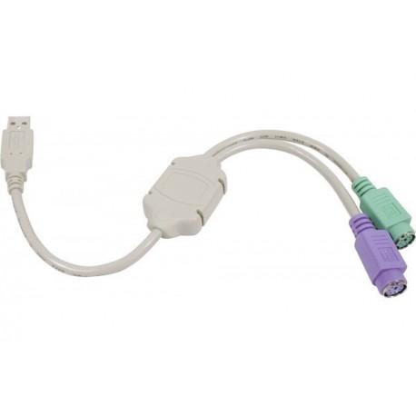 Adaptateur USB vers PS/2 (clavier+souris)