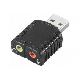 Mini carte son USB entrée/sortie