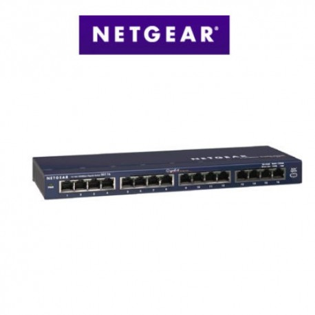 Switch Netgear Métal 16 ports Gigabit