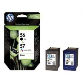 HP 56 57 kit combo Noir+Couleur