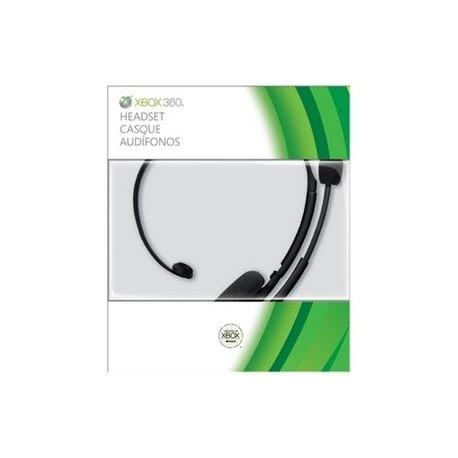 Xbox 360 : Micro-casque filaire noir standard