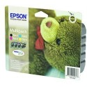 Epson multipack Noir, Cyan, Magenta, Jaune T0615 Ourson