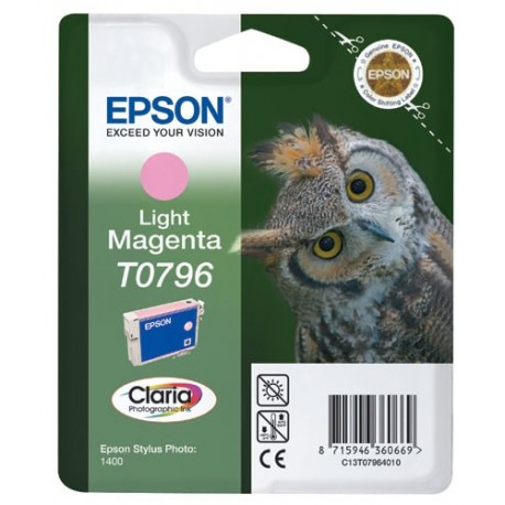 Epson Light Magenta T0796 Chouette