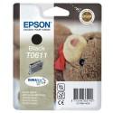 Epson Noir T0611 Ourson