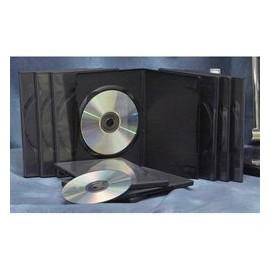 Boîtiers DVD simples noir (lot de 10)